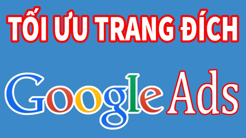 Chọn trang đích cần quảng cáo Google Ads